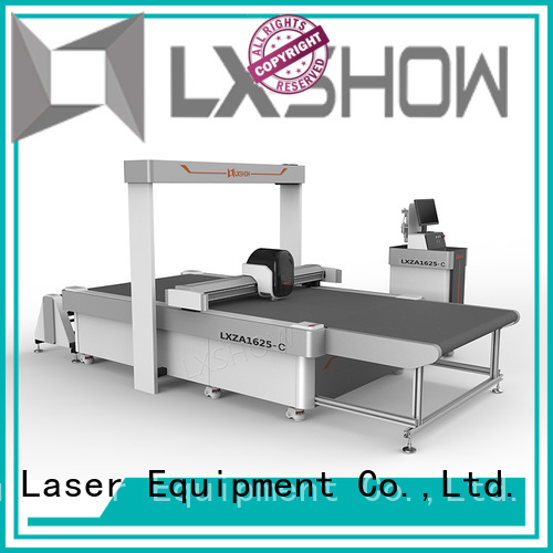 Lxshow stable foam cutting machine promotion for sponge