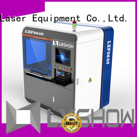 Lxshow cnc laser cutter wholesale for packaging bottles