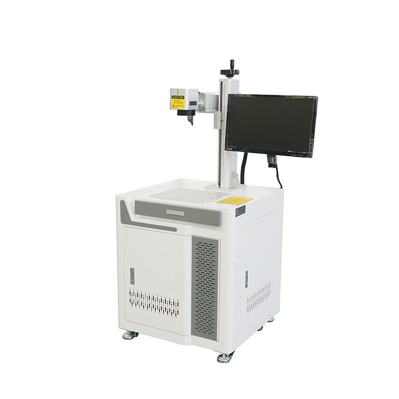 Desktop Fiber laser marking machine 20w 30w 50w 100w 120w for metal