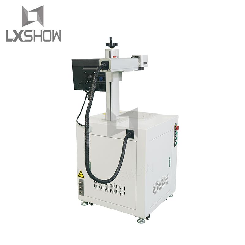 product-Desktop Fiber laser marking machine 20w 30w 50w 100w 120w for metal-Lxshow-img-1