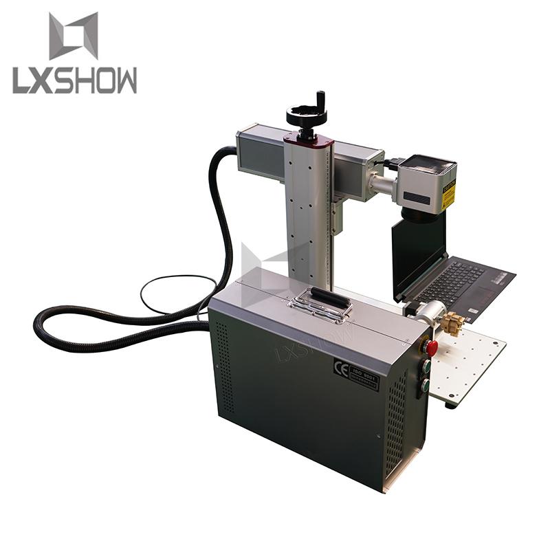 product-Portable 20w 30w 50w 100w 120w color mopa general Fiber laser marking machine price-Lxshow-i-1
