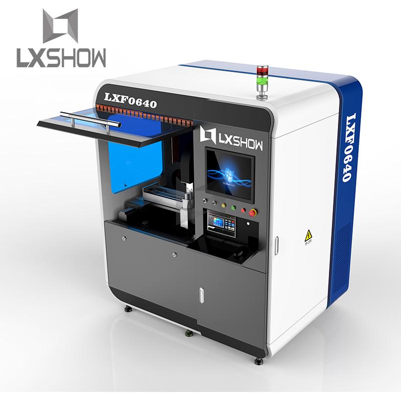 product-Lxshow-Small Mini fiber laser cutting machine 0640 500W 750W 1000W-img