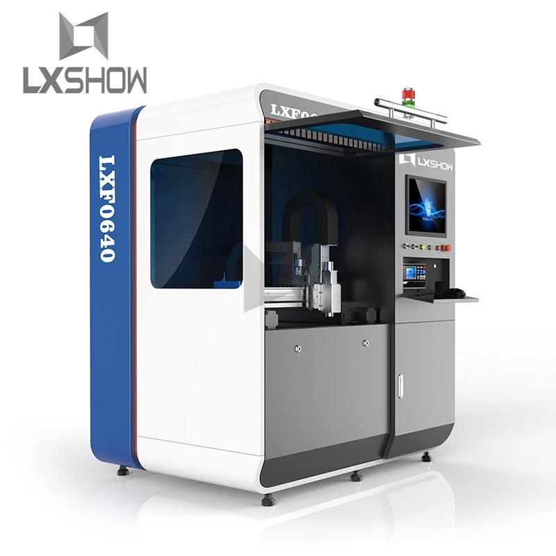 product-Small Mini fiber laser cutting machine 0640 500W 750W 1000W-Lxshow-img-1