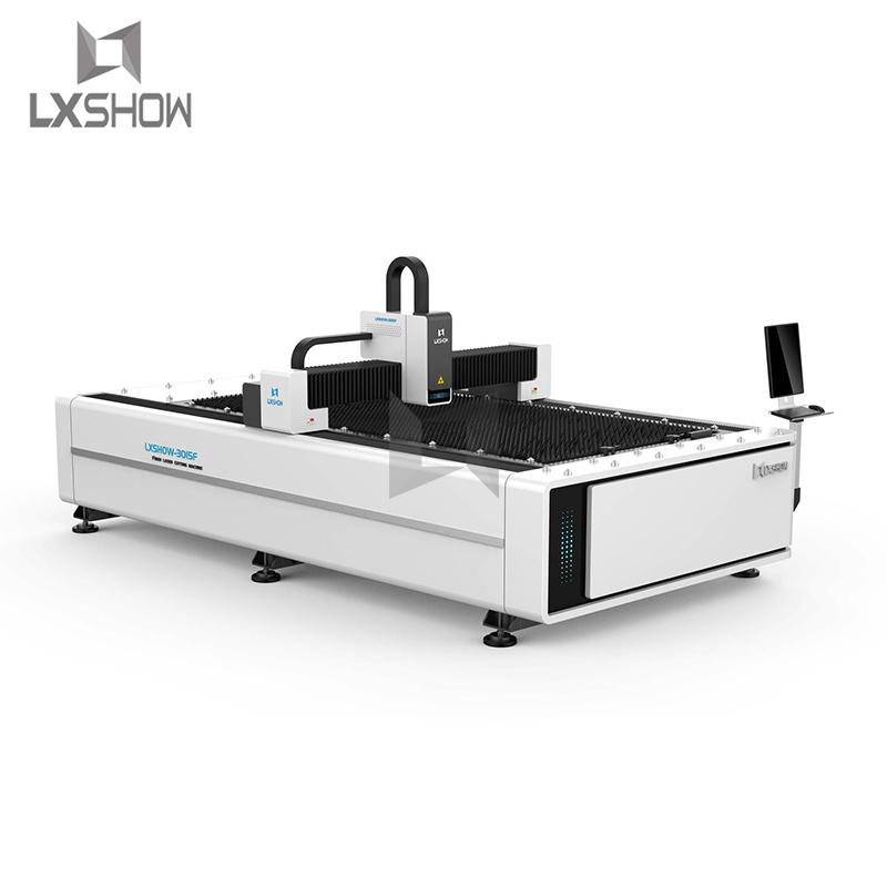 product-Lxshow-Hot sale metal sheet Plate fiber laser cutting machine 1530 5001000150022003300W-img