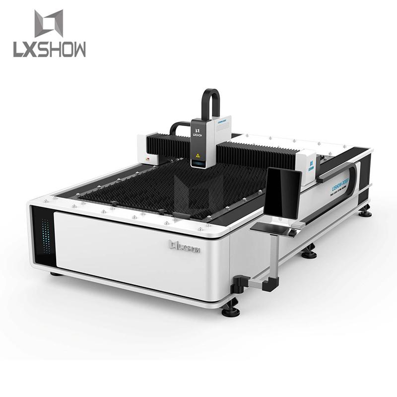 product-Hot sale metal sheet Plate fiber laser cutting machine 1530 5001000150022003300W-Lxshow-img-1