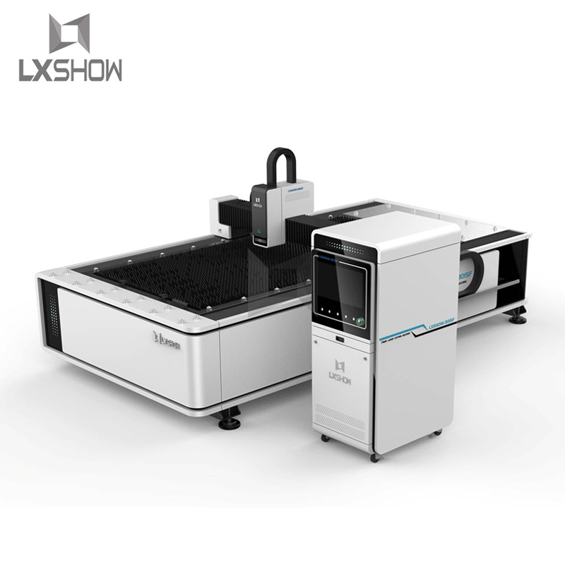 product-Lxshow-High Precision metal carbon steel stainless steel fiber laser cutting machine 1530 50