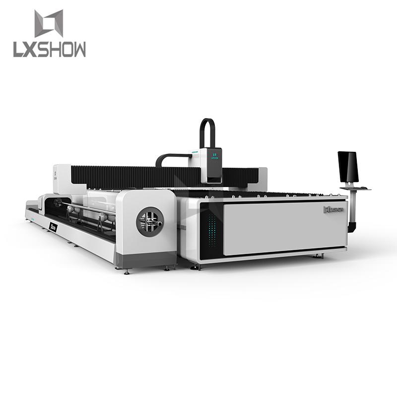 product-Exchange table fiber optic tube cutter fiber tube cutter fiber laser tube cutting-Lxshow-img-1