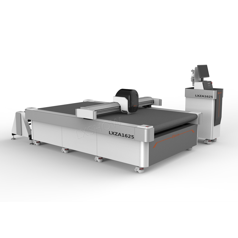 Auto Feeding Cnc Vibrating Knife Cutting Machine 1625