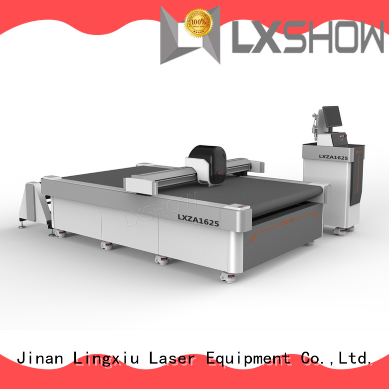 Lxshow fabric cutting machine directly sale for seat cover