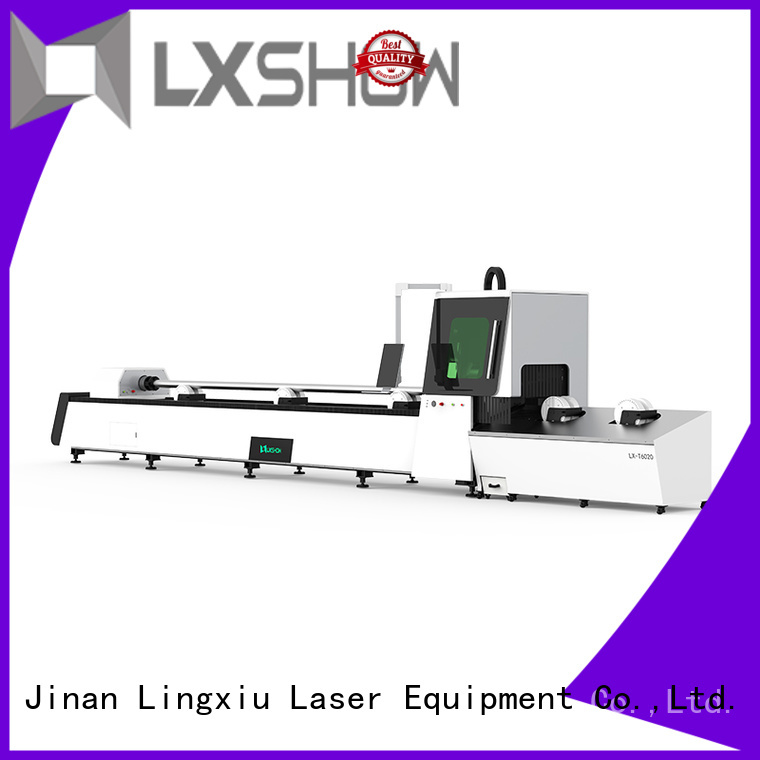Lxshow creative tube laser cutting directly sale for factory
