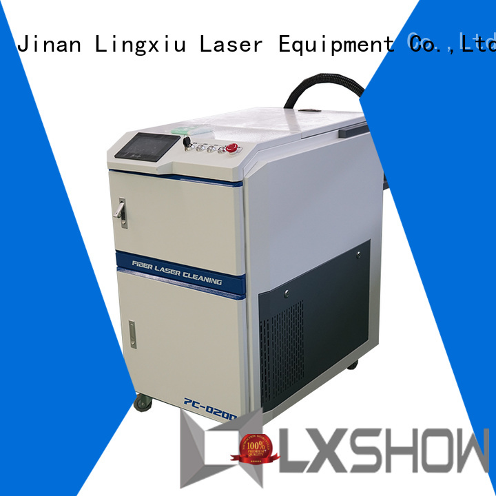 Lxshow laser cleaning rust factory price for work plant