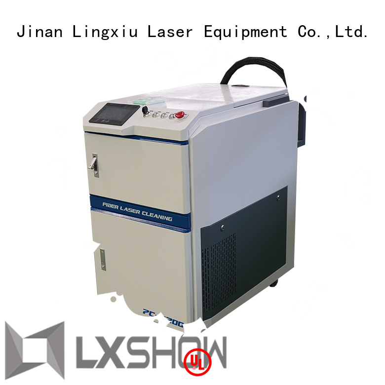 Lxshow laser cleaner factory price for work plant