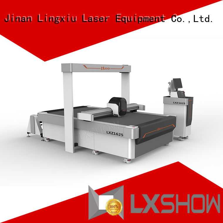 Lxshow good quality cnc cutting factory price for sticker