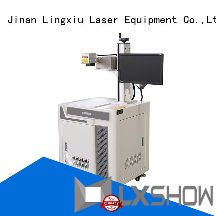 Lxshow precise laser marking supplier for workshop