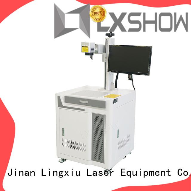 Lxshow stable lazer marking manufacturer for packaging bottles