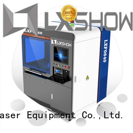 Lxshow stable metal laser cutter directly sale for Clock