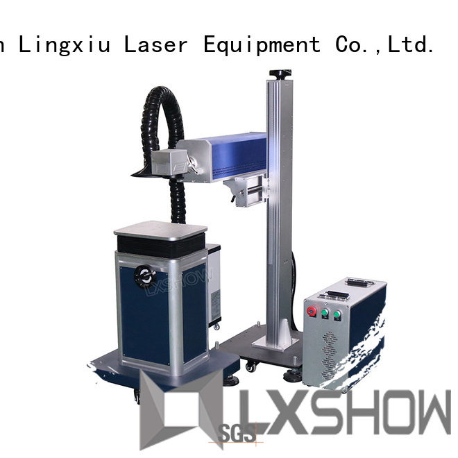Lxshow co2 laser machine directly sale for bamboo