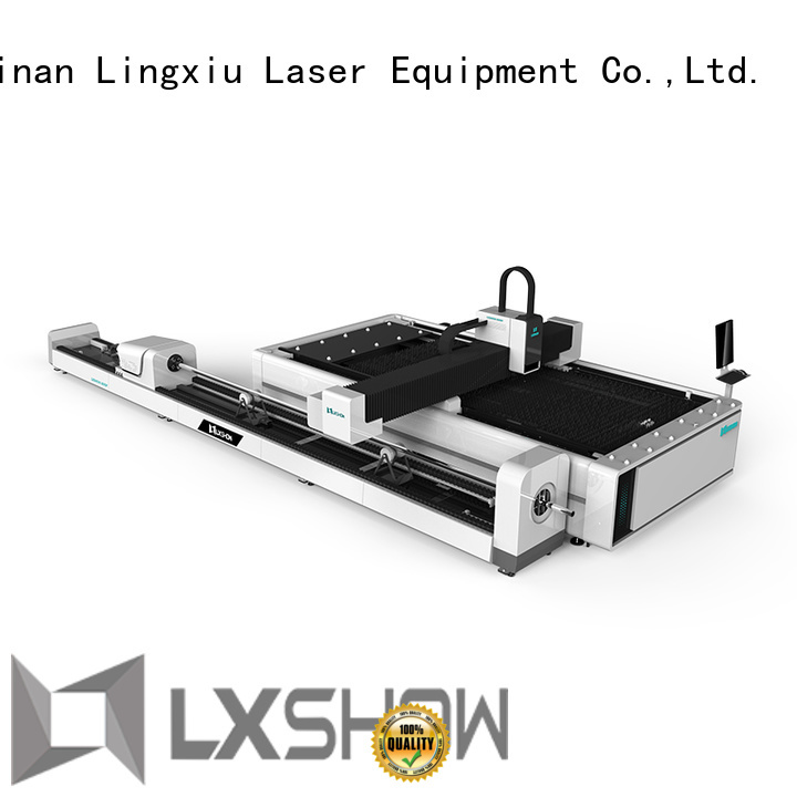 Lxshow long lasting fiber laser cutter directly sale for Mild Steel Plate