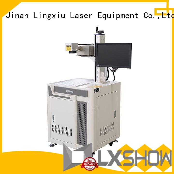 Lxshow high quality laser marking machine supplier for work plant