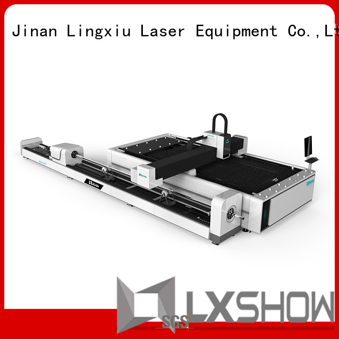 Lxshow laser cut metal directly sale for Iron Plate