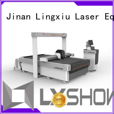 Lxshow fabric cutting machine at discount for sticker
