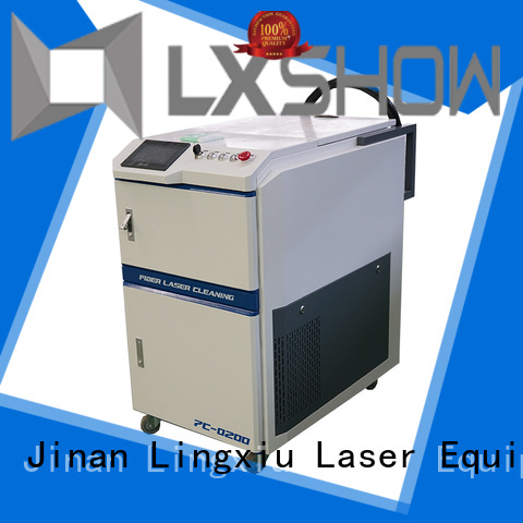 Lxshow laser clean rust factory price for factory