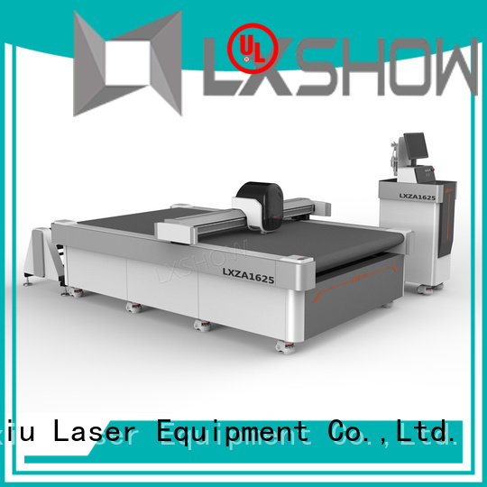 Lxshow fabric cutting machine directly sale for sponge
